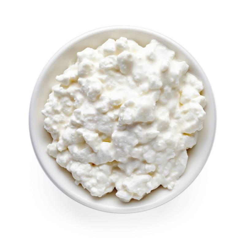 cottage cheese has casein protein.